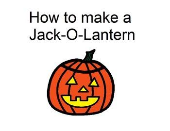 How to Make a Jack-O-Lantern
