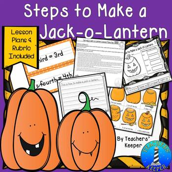 How to Make a Jack-o-Lantern Procedures with Differentiation