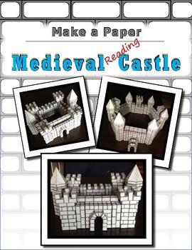 Make a Paper Medieval Castle (Reading Castle)