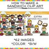 How to Make a Sandwich Clip Art