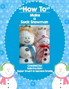 How to Make a Sock Snowman