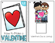 How to Make a Valentine Adapted Books { Level 1 and Level