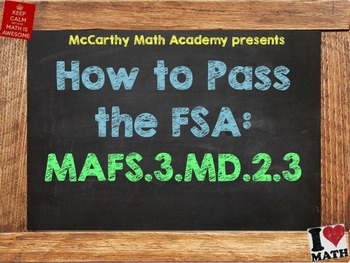 How to Pass the Math FSA - Bar and Picture Graphs - MAFS.3