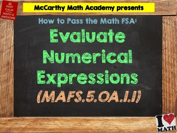 How to Pass the Math FSA - Evaluate Numerical Expressions