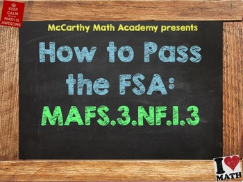How to Pass the Math FSA - Fraction Equivalence & Comparis