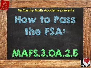 How to Pass the Math FSA - Multiplication Properties - MAF