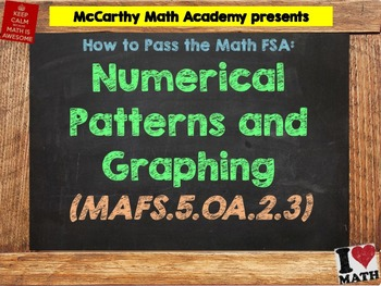How to Pass the Math FSA - Numerical Patterns and Graphing