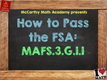 How to Pass the Math FSA - Shapes and Their Attributes MAF