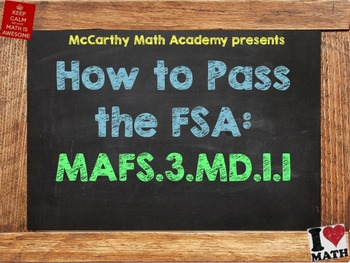 How to Pass the Math FSA - Time - MAFS.3.MD.1.1 (Test Prep)