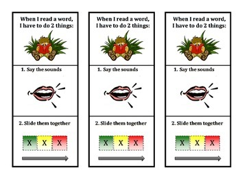 """""""How to Read & Write"""" Bookmark (next step after Phonologic"""