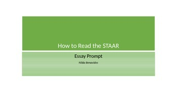 How to Read the STAAR Prompt