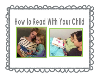 How to Read with Your Child- Video Resource for your stude