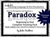 Paradox Lesson, Complete Teaching Pack with Task Cards