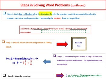 How to Solve Math Word Problems