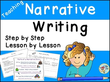Narrative Writing - Daily Plan for Teaching Narrative Writing