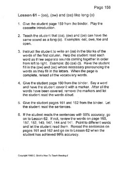 How to Teach Reading Lesson 61 - 70