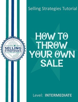 How to Throw Your Own Sale