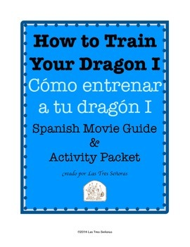 How to Train Your Dragon I Movie Guide and Activity Packet