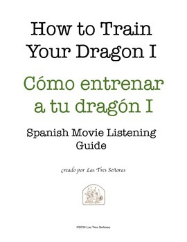 How to Train Your Dragon I Spanish Movie Listening Guide