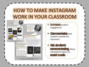 How to Use Instagram in Your Classroom - A Resource for th