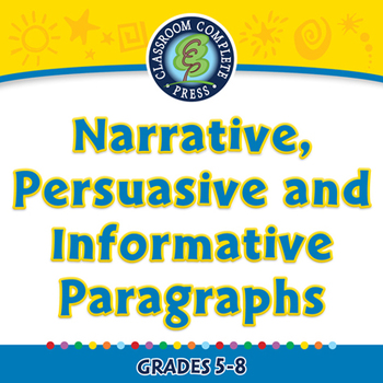 How to Write Narrative, Persuasive and Informative Paragra