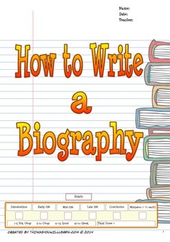 How to Write a Biography (Writer's Process)