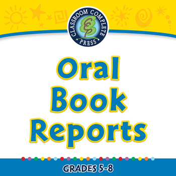 How to Write a Book Report: Oral Book Reports - MAC Gr. 5-8