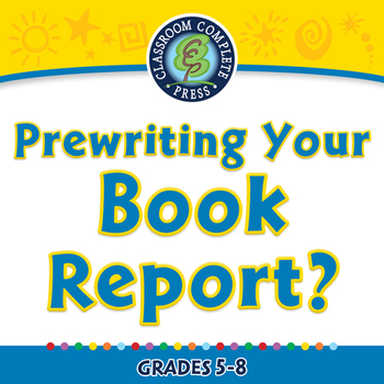 How to Write a Book Report: Prewriting Your Book Report -