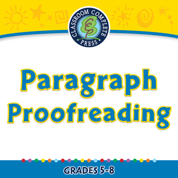 How to Write a Paragraph: Paragraph Proofreading - NOTEBOO
