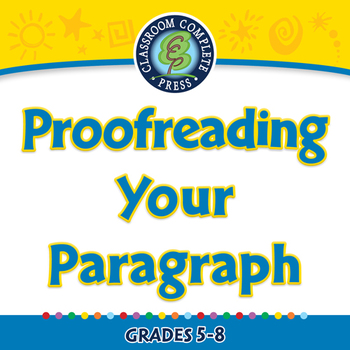 How to Write a Paragraph: Proofreading Your Paragraph - PC
