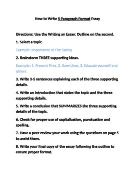 How to Write an Essay- Made REALLY easy!