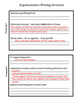 How to Write in Middle School - The 8th Grade Argumentative Essay
