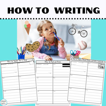 Common Core Informational Writing Prompts: How To Writing