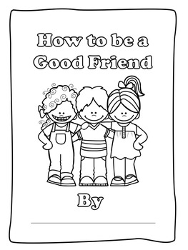 How to be a Good Friend Book