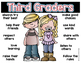 How to be a Good Third Grader Poster {freebie!}