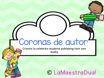 Writing workshop author crowns