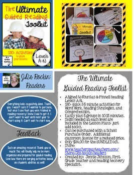 How to buy The Ultimate Guided Reading Toolkit with a Purc