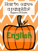 How to carve a pumpkin? in Spanish and English