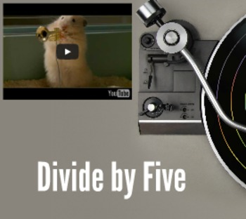 Prezi: How to divide by fives.