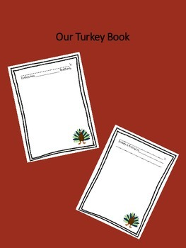 How to draw a turkey class book