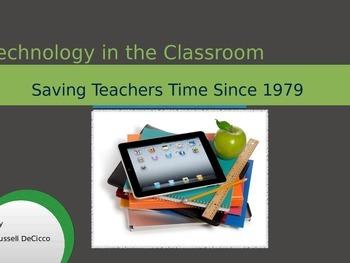Professional Presentation Ipad Use in the Classroom