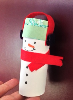 How to make a holiday craft snowman ornaments from recylce