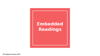 How to make an Embedded Reading