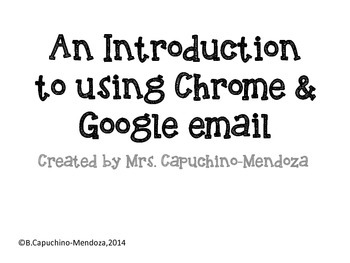 How to use chrome & google email