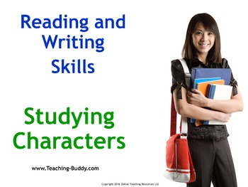 How to Write About Fictional Characters - PowerPoint and w