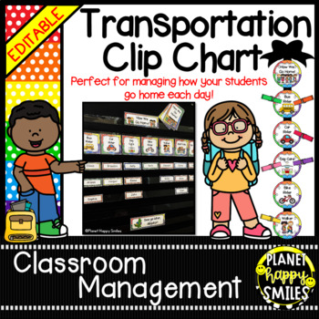 How we go home ~ Transportation Bundle (Editable) ~ Multi Polka Dot Theme