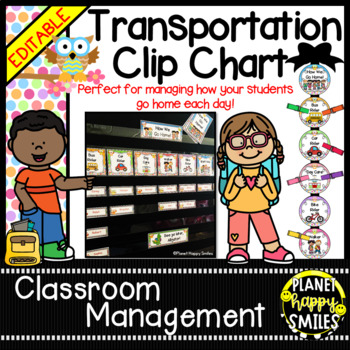 How we go home ~ Transportation Bundle (Editable) ~ Owl Theme