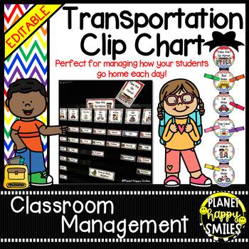 How we go home ~ Transportation Bundle (Editable) ~Rainbow