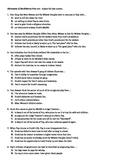 Huckleberry Finn Multiple Choice Test