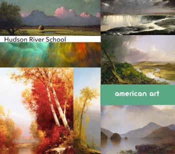 Hudson River School ~ Free Poster ~ American Landscape Painters